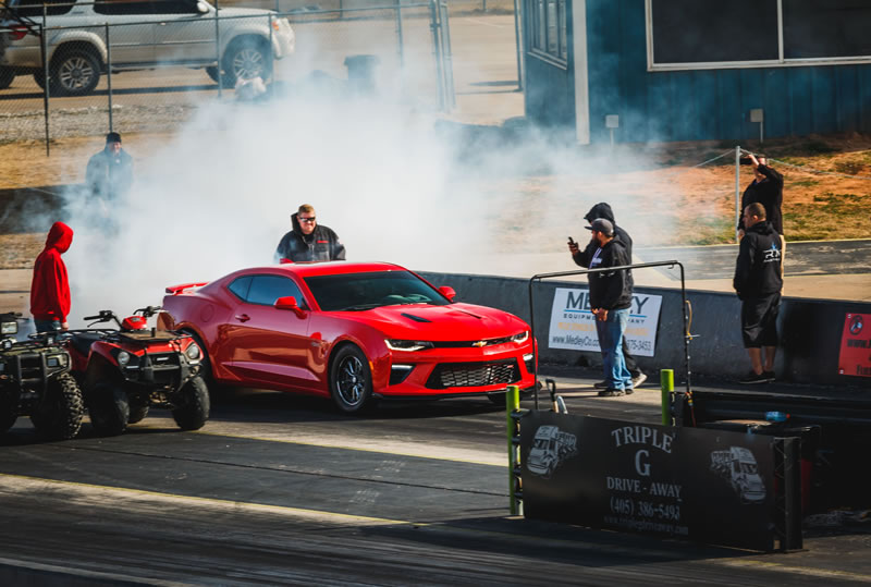 Fireball Performance Tean with the R&D Car at the track